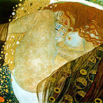 Dnae por Klimt, Gustav