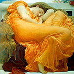 Juno ardiente por Leighton, Lord Frederick