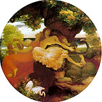 El jardn de las Hesprides por Leighton, Lord Frederick