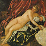 Leda y el Cisne por Tintoretto, Jacopo Robusti
