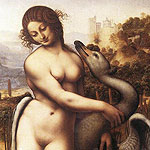 Leda y Cisne por da Vinci, Leonardo