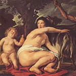 La Juventud de Zeus por Jordaens, Jacob
