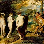 El juicio de Paris por Rubens, Peter Paul