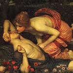 El despertar de Adonis por Waterhouse, John William