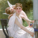 Penelope por Bouguereau, Adolphe-William