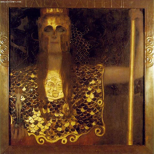 Palas Atenea - Klimt, Gustav