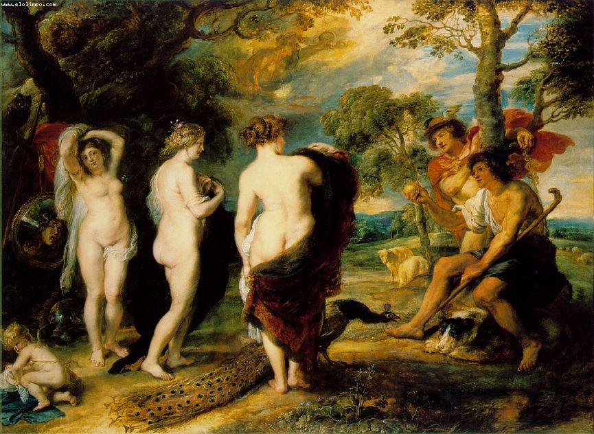 El juicio de Paris - Rubens, Peter Paul